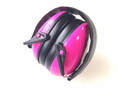 New Pink kids Earmuffs - Hearing Protection Ear muffs 6m to 16y