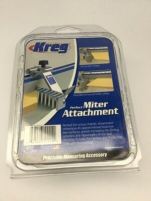 KREG Tools Perfect Miter Attachment For Flipstop Or Production Stop - NEW IN BOX