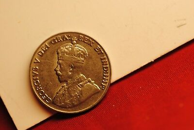 Canada 1929 Five Cents in very fine