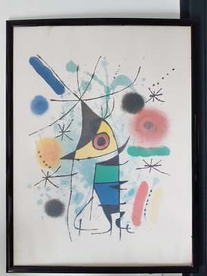 Miro affiche Lithography print