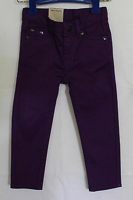 LEVI'S ~ Girls Purple Stretch Cotton Skinny Jeans Jeggings NWT 2
