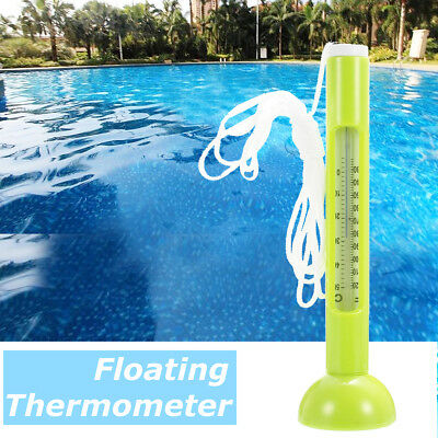 Green Swimming Pool Floating Thermometer Test Bath Tub Fish Pond Temperature