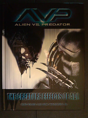 RAR Alien vs Predator FX HC Creature Effects ADI Studios signiert!
