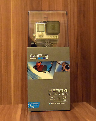GoPro Hero 4 Silver Adventure 12 MP Touch Display NEU OVP