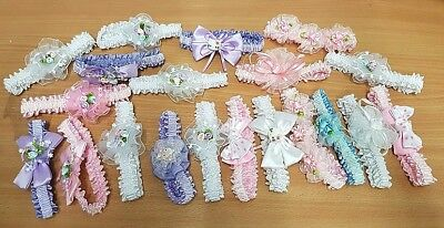 20 Baby Headbands JOB LOT Baby Girls Hair Accessories Wholesale Hairbands