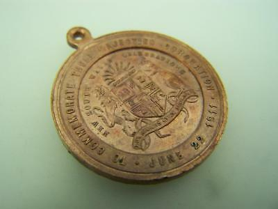 Medal Coronation King George V Queen Mary 1911 New South Wales Australia    2419
