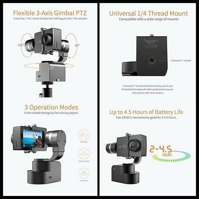 New Yi Lite 4K 4K+ Photograohy Action Camera Gimbal 3-Axis Handheld Stabilizer