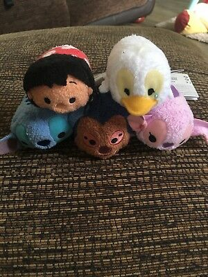 5 Lilo And Stitch Tsum Tsums New With Tags
