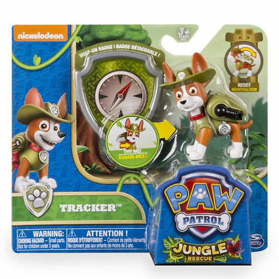 Paw Patrol Tracker  Jungle Rescue Pup and Badge