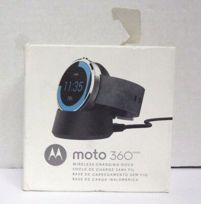 NOB Genuine Motorola Moto 360 Wireless Charging Dock for Moto 360 Smart Watch