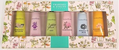 Crabtree & Evelyn London Hand Therapy Cream Luxury Pampering rrp £7.99 per 25ml