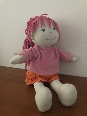 Haba Puppe Lilly Lilli Anziehpuppe 30 cm