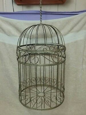 Dome Shaped Metal Bird Cage
