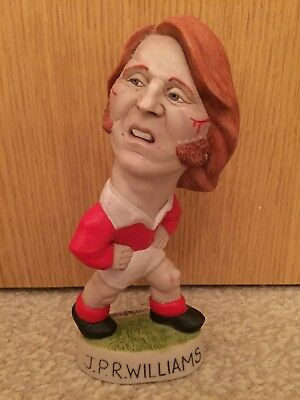 J.P.R Williams - Welsh Rugby Player - Mini Grogg