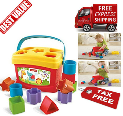 Interactive Identification Skills Baby Toddler Toy Shaped Blocks Sorter Learning