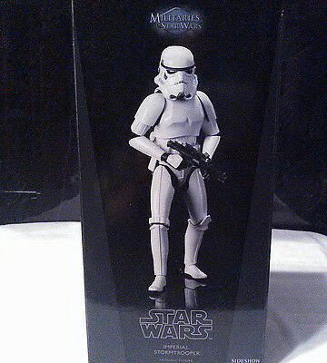 Sideshow/hottoys/star Wars Imperial Stormtrooper A.n.h./1:6 Scale/new.