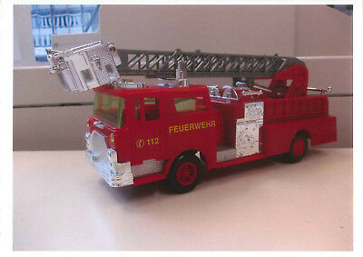 MACK CF Fire Pumper w/ tower ladder, 1/32, Snap, ähnlich MONOGRAM kit