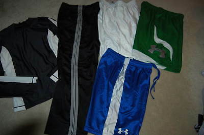 5 Pc ATHLETIC mixed lot 14-16 ~UNDER ARMOUR~STARTER++ 1NWT!
