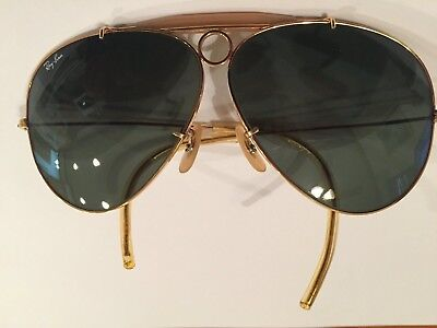 Vintage 70s Ray-Ban Shooters sunglasses