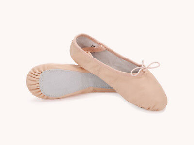Clearance Freeshipping Leather Full Sole Ballet Slipper Dance Shoes