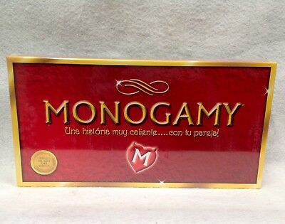 Monogamy French Edition Couples Board Game Intimate RolePlay Boudoir Gift Amour