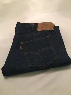 Levis 505-0217 #8 button DS NOS no Big E Redline 36/32