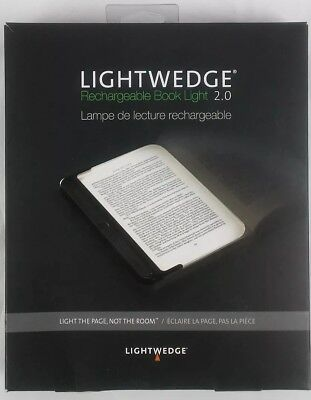 LightWedge LW010-009 Rechargeable LED Book reading Light 2.0