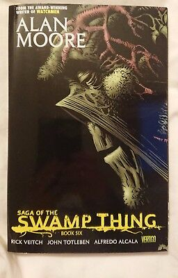 Saga of the Swamp Thing - Book Six - Graphic Novel by Alan Moore