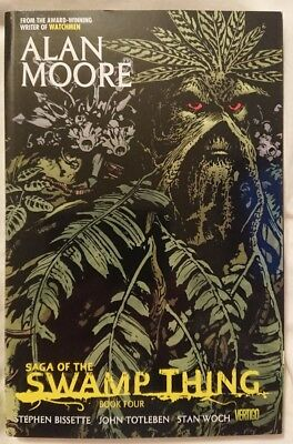 Saga of the Swamp Thing - Book Four - Graphic Novel by Alan Moore