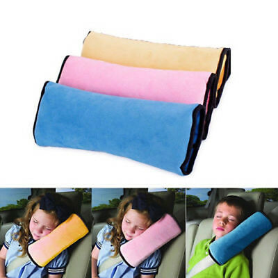 Soft Child Kid Baby Car Seat Belt Pillow Shoulder Pad Cover Cushion Head Support