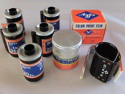 Agfa Vintage film & Canisters