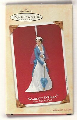 2003 Hallmark Keepsake Gone With the Wind Scarlett O'Hara Ornament