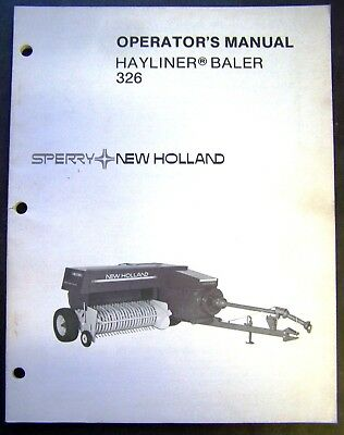 new holland antique baler owners manual 5 00 picclick rh picclick com New Holland Hay Baler New Holland Hay Baler