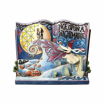 Jim Shore Disney Traditions Nightmare Before Christmas Storybook NEW IN BOX