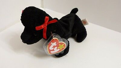 Ty Beanie Baby ~ GIGI the Black Poodle Dog ~ MINT with MINT TAGS ~ RETIRED