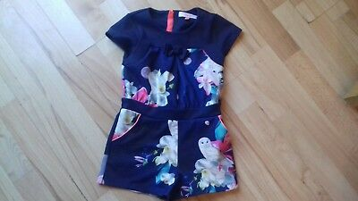 ted baker girls playsuit age 4-5
