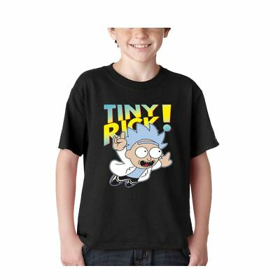 Rick and Morty Kids youth shirt tee tv pocket funny t s pickle club kid's shirt