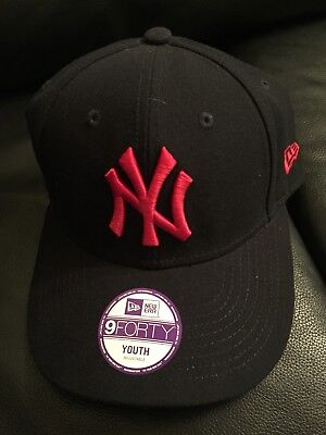 New York Official Major League Baseball Cap Youth Size Brand New