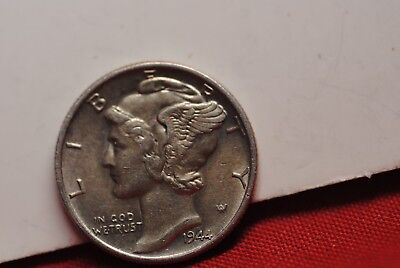 1944 Mercury Dime Brilliant Uncirculated