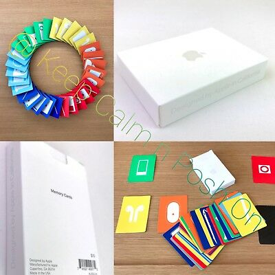 Apple Inc Memory Cards Game Official Park Store Cupertino Usa Made New Very Rare