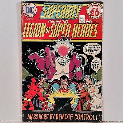 Superboy No. 203 - DC National Periodical Pub. July/August 1974 No Reserve!