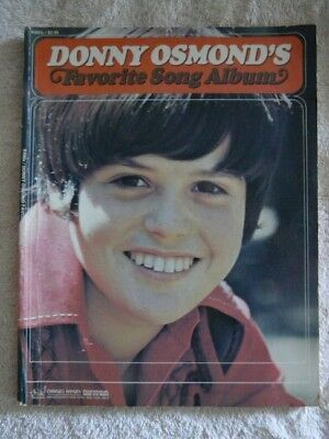Vintage Donny Osmond's Favorite Song Album~Sheet Music~Piano, Guitar