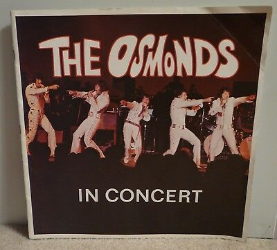 The Osmonds In Concert~1972 Osmonds Concert Program~Donny Osmond