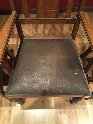 Old Colony Chair Company Seat Cushion Vintage 1910-1930? Brown Antique Rockford
