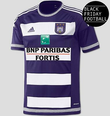 Anderlecht Home Shirt - Official adidas Rare Football Shirt *BLACK FRIDAY SALE*