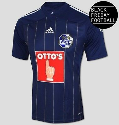 Luzern FC Home Shirt - Official adidas Rare Football Shirt *BLACK FRIDAY SALE*