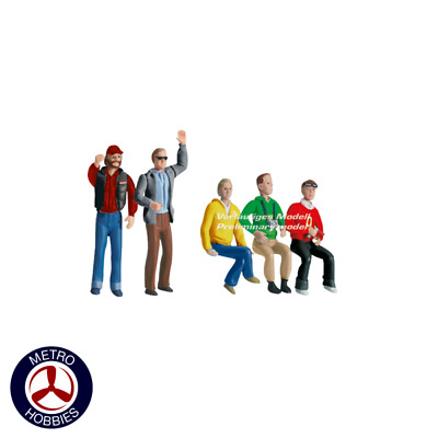 Carrera Evolution/Digital 132 Carrera Set of figures audience 21127 Brand New