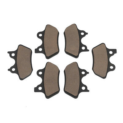 Front + Rear Brake Pads For Harley Touring Electra Street Glide Dyna Sportster