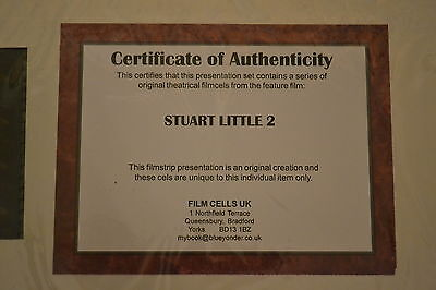 STUART LITTLE 2 Limited Edition Film Cell   **  FREE POSTAGE