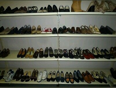 Wholesale Lot 10 Pair Womens Shoes Assorted Mixed Sizes